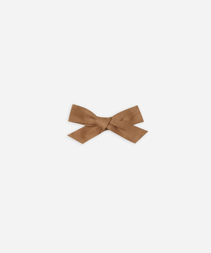 Rylee + Cru Bow With Clip - Caramel