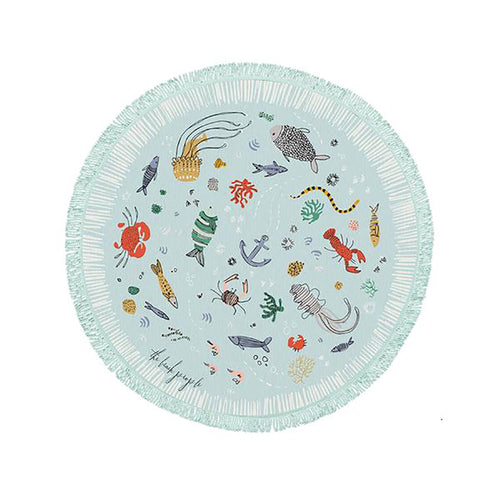 The Beach People - Buccaneer Petite Round Towel
