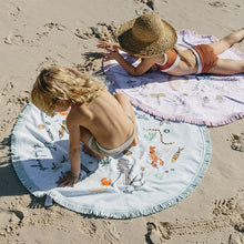 Load image into Gallery viewer, The Beach People - Buccaneer Petite Round Towel