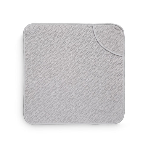 Cam Cam Hooded Wave Baby Towel - Grey