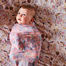 Load image into Gallery viewer, Kip & Co - Carnation Lilac Bamboo Swaddle