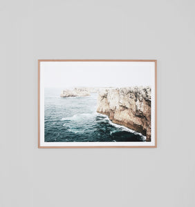 Framed Print - Cliff View