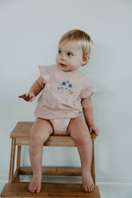 Load image into Gallery viewer, Miann & Co- Dusty Pink Embroidered Bodysuit