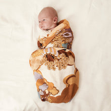 Load image into Gallery viewer, Banabae Organic Cotton  Swaddle - Day Dream Believer