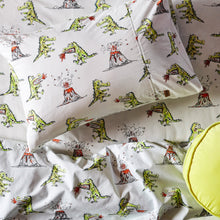 Load image into Gallery viewer, Kip & Co - Dino Roar Cotton Fitted Sheet