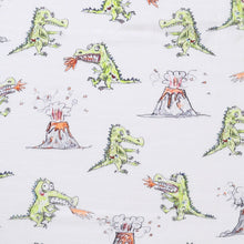 Load image into Gallery viewer, Kip & Co - Dino Roar Bamboo Swaddle
