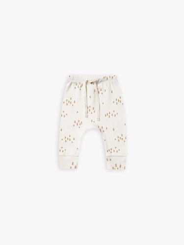 Quincy Mae - Drawstring Pant - Ivory Tree