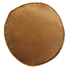 Load image into Gallery viewer, Kip & Co - Scorched Almond Velvet Pea Cushion