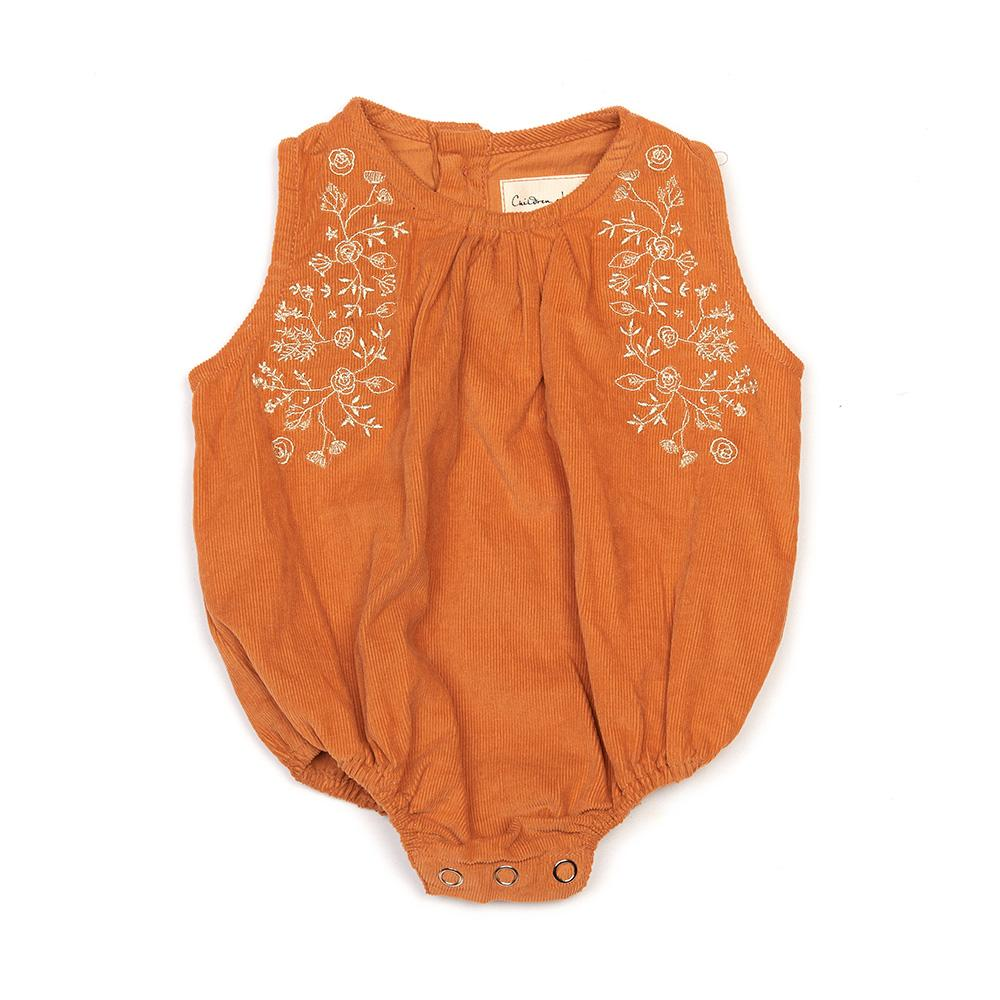Children Of The Tribe - Embroidered Cord Romper