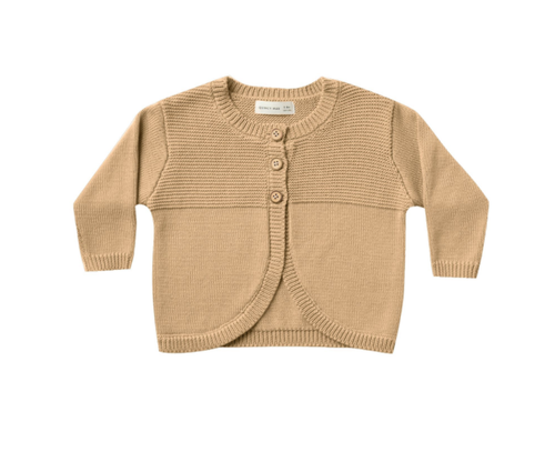 Quincy Mae- Knit Cardigan Honey