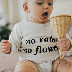 Children Of The Tribe- No Rain No Flowers Long Sleeved Onesie