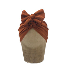 Load image into Gallery viewer, Fini Headwrap - Brown Brick