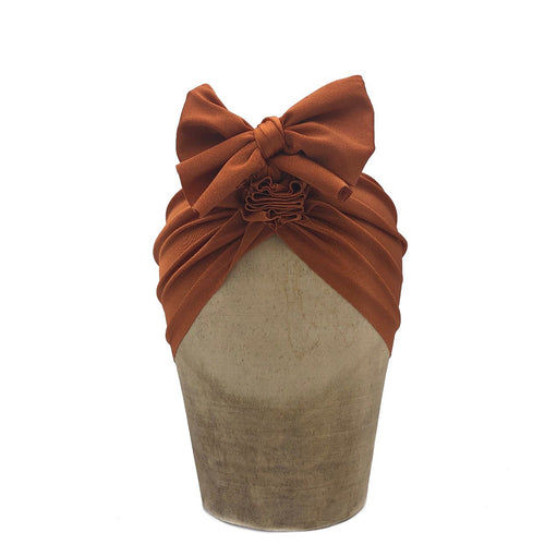 Fini Headwrap - Brown Brick