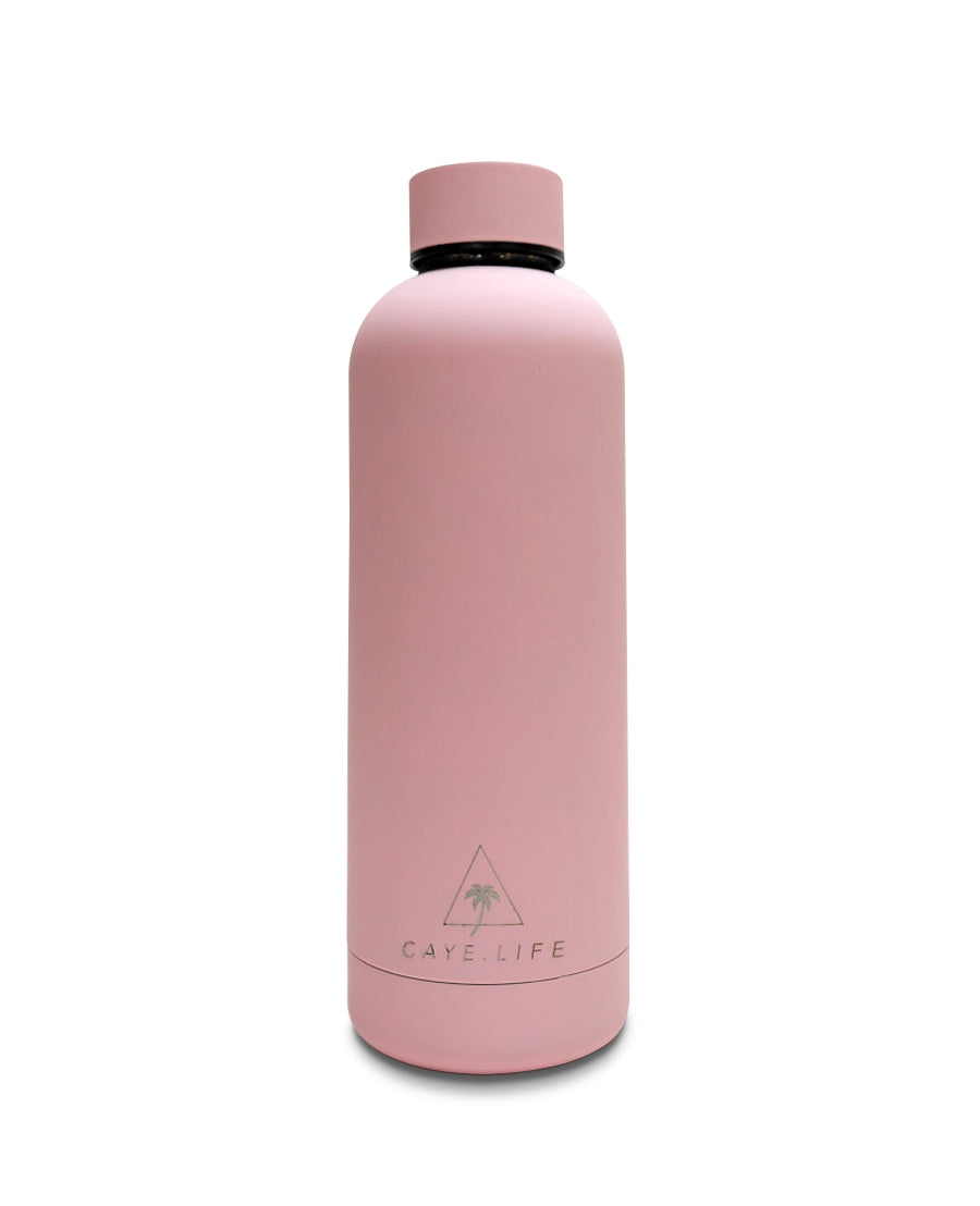Caye Life Water Bottle - Flamingo