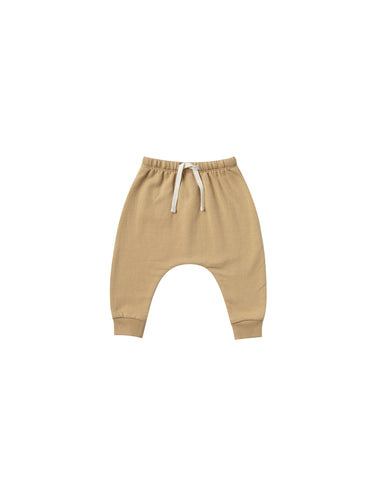 Quincy Mae Basic Fleece Sweatpant - Honey