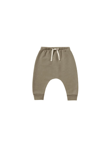 Quincy Mae Basic Fleece Sweatpant - Olive