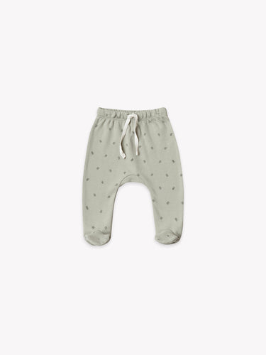 Quincy Mae - Footed Pant - Sage