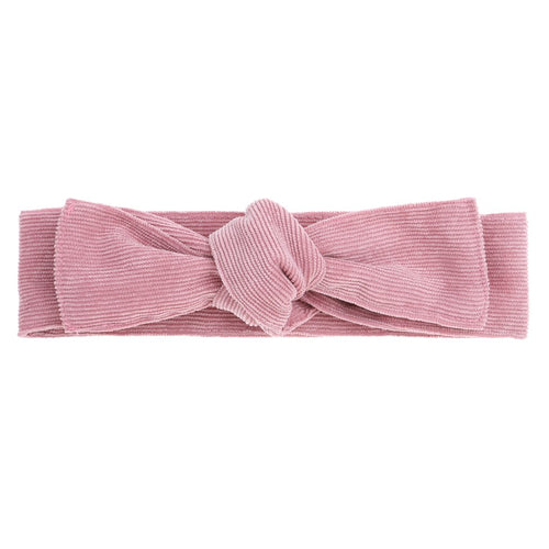 Bonnie & Harlo Head Wrap - Pink Cord