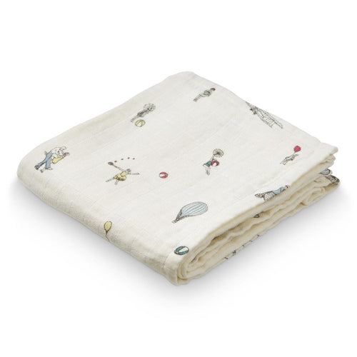 Cam Cam Organic Printed Muslin Cloth - Holiday