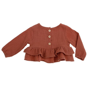 Bonnie and Harlo Blouse - Dusty