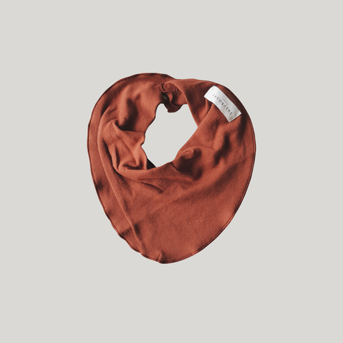 Susukoshi Baby Bib - Burnt Orange