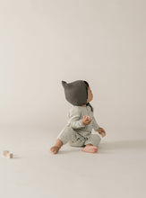 Load image into Gallery viewer, Quincy Mae - Ribbed Baby Jumpsuit - Dove