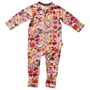 Kip & Co - Field Of Dreams Organic Zip Romper