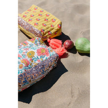 Load image into Gallery viewer, Louise Misha - Large Pocket Quilted Pouch - Safran Flowers