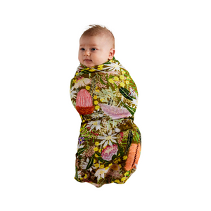 Kip & Co Native Plantation Bamboo Swaddle