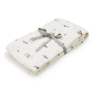 Cam Cam Organic Printed Light Swaddle - Holiday