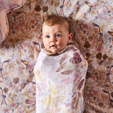 Load image into Gallery viewer, Kip & Co - Little Paradiso Tropical Cotton Swaddle