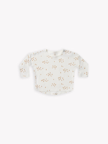Quincy Mae Long Sleeve Tee - Ivory