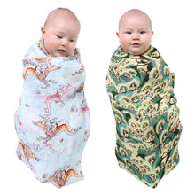 Load image into Gallery viewer, May Gibbs X Kip & Co Peek A Boo and Ocean Babes Swaddle Set
