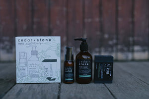 Cedar & Stone- Men's Essentials Pack
