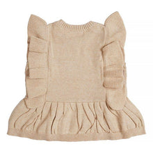 Load image into Gallery viewer, Miann & Co- Natural Frill Knit Top