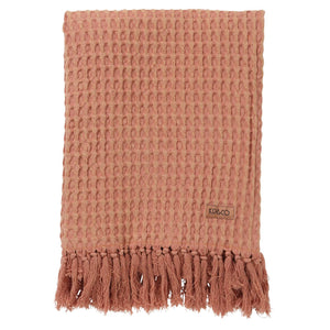 Kip & Co - Muted Clay Waffle Bath Towel