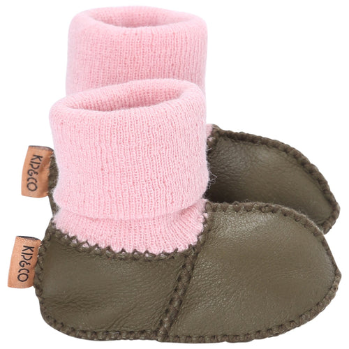 Kip & Co - Olive Baby Bootie