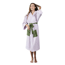 Load image into Gallery viewer, Kip & Co - Pastel Lilac Waffle Bath Robe