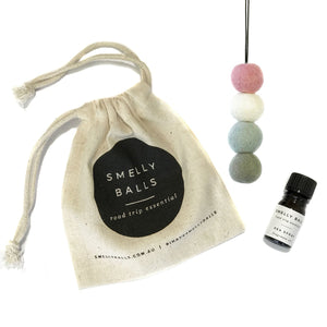 Smelly Balls - Pastel / Coconut + Lime
