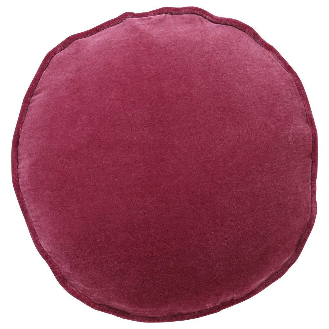 Kip & Co - Peony Rose Velvet Pea Cushion