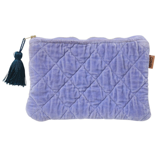 Kip & Co - Persian Jewel Velvet Quilted Cosmetics Purse