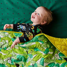 Load image into Gallery viewer, Kip & Co - In a Pickle Quilted Comforter - Cot