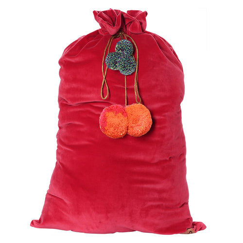 Kip & Co - Red Velvet Santa Sack