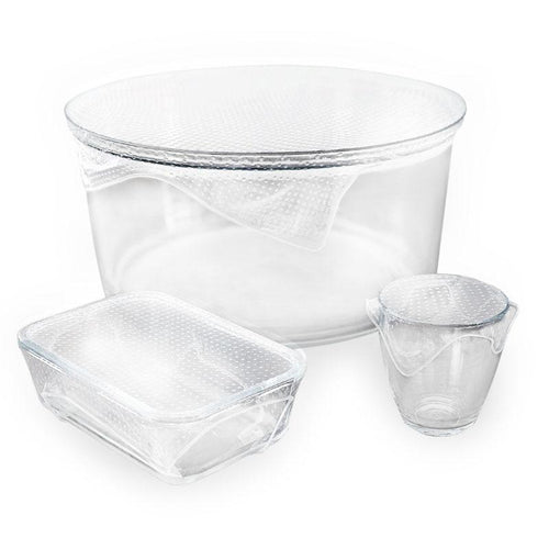 Seed and Sprout Reusable Clear Food Warp Set