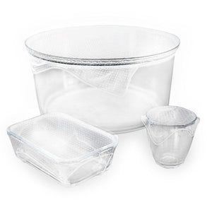Seed & Sprout Reusable Clear Food Warp Set