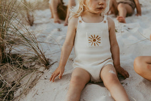 Grown Sun Romper - Milk