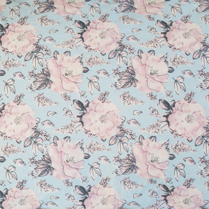 Rose Print Fitted Single Sheet