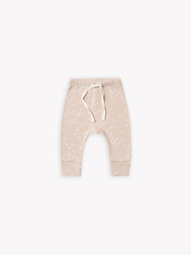 Quincy Mae - Drawstring Pant - Rose Print