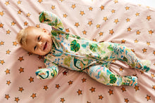 Load image into Gallery viewer, Kip & Co - Birds of Paradise Organic Zip Romper