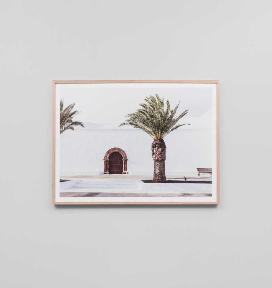 Framed Print- Spanish Door